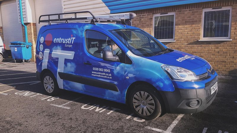 Entrust It Vehicle Wrapping