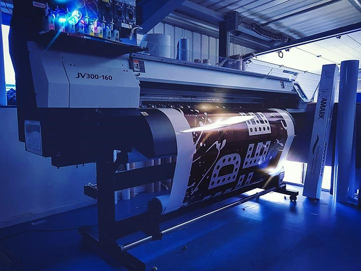 Insignia Signs - The Print Process