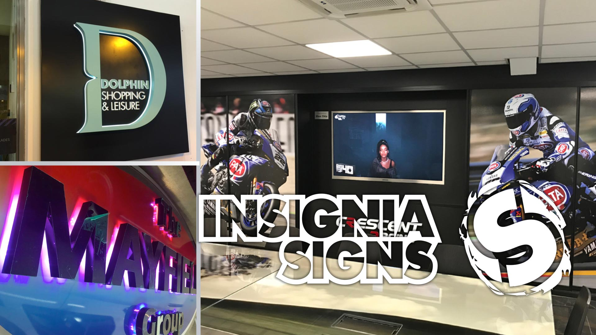 Insignia Signs - Sign Work - Montage