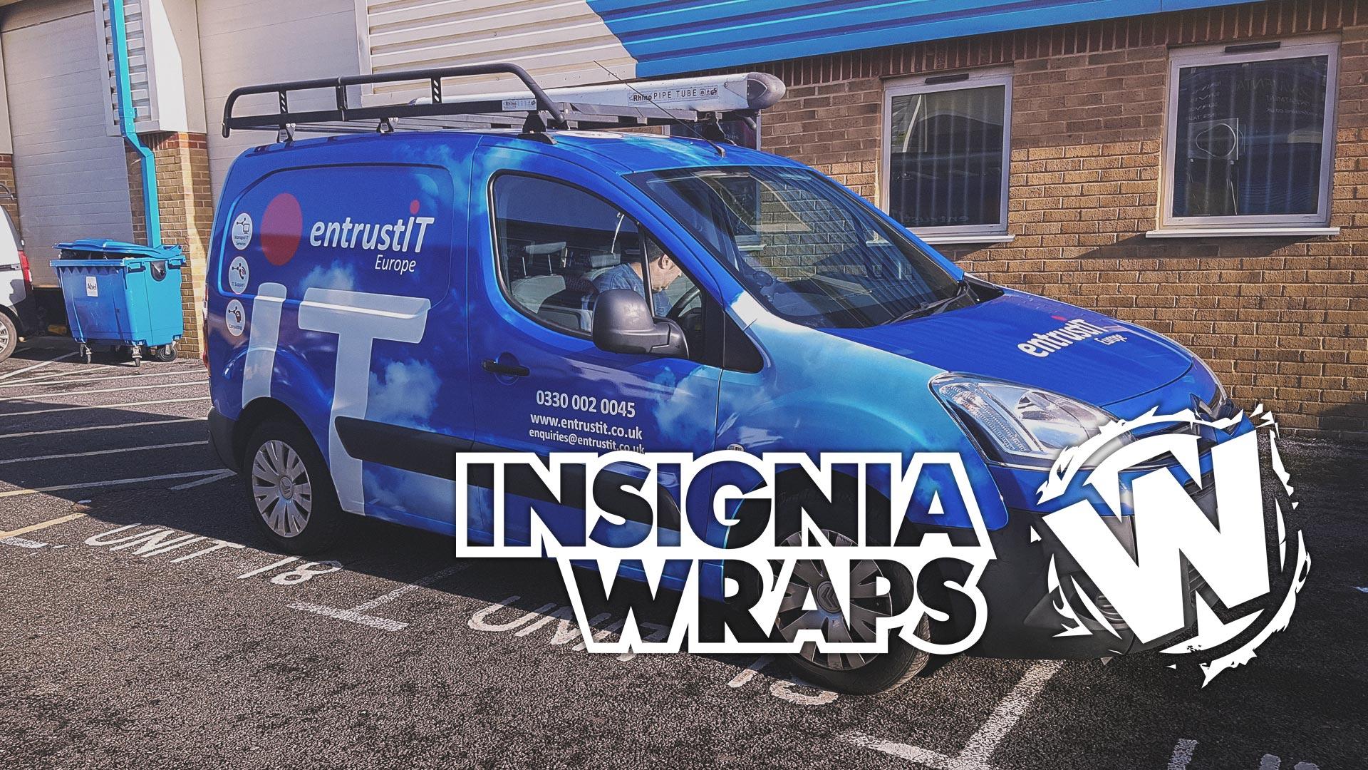Insignia Wraps - Wraps Work - Entrust Van