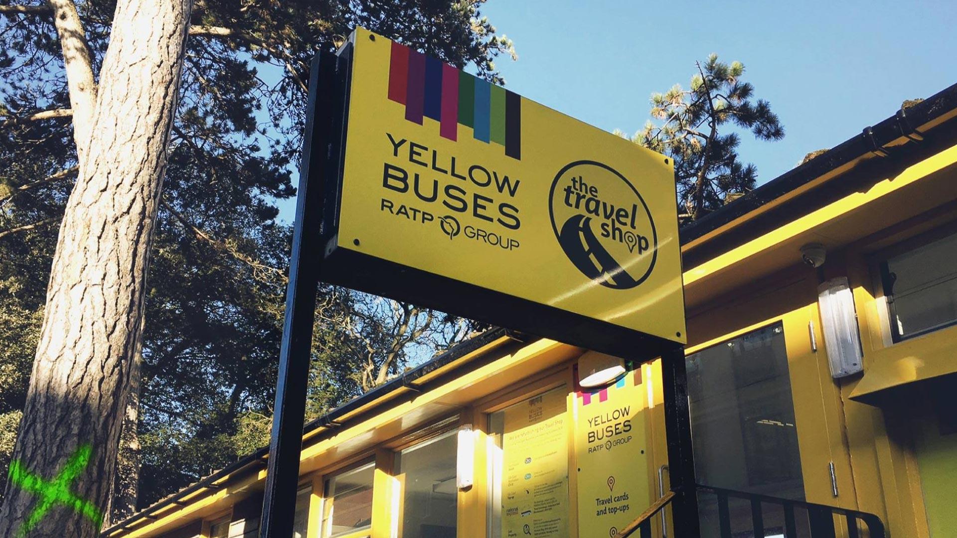 Portfolio - Yellow Buses - Sign