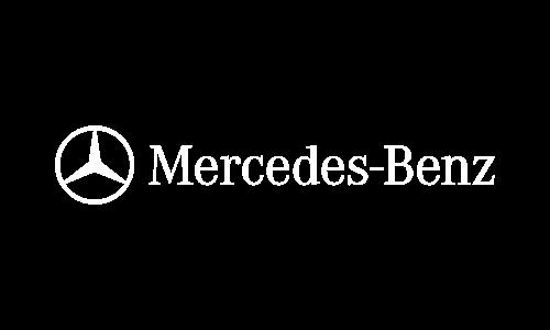 Mercedes Benz Logo White