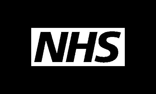 NHS Logo White